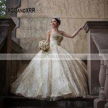 Musujące sukienki Quinceanera 2020 Sweetheart Backless koronkowa aplikacja z frezowanie długie słodkie 15 16 suknia na przyjęcie urodzinowe sukienka na studniówkę