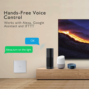 Image 3 - Wifi Thông Minh Tường Công Tắc Đèn Cảm Ứng Kính Cường Lực Tiêu Chuẩn EU Ứng Dụng Di Động Điều Khiển Từ Xa Làm Việc Với Alexa Google Nhà Cho tuya