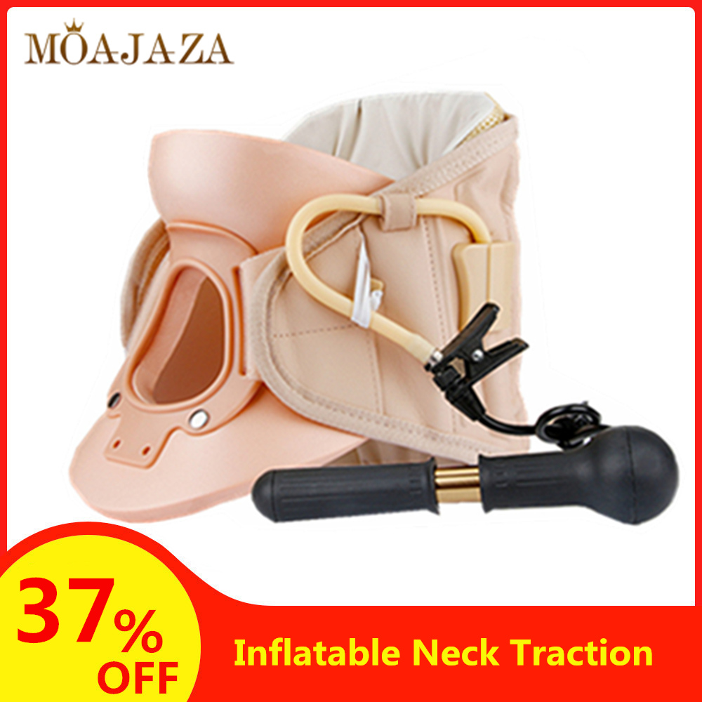 Inflatable Cervical Neck Traction Device Soft Medical Orthopedic Neck Pillow Pain Release Collar Neck Stretching Brace Hot Sales(China)