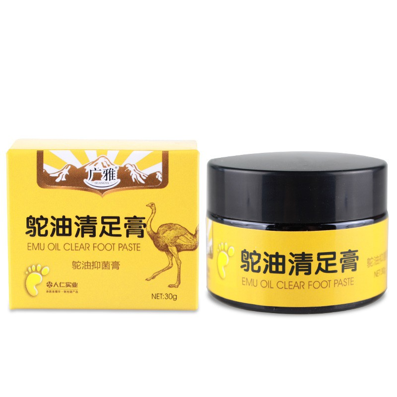 1pc Effective Removal Dead Skin Ostrich Oil Anti-drying Crack Foot Cream Cracked Heel Repair Cream
