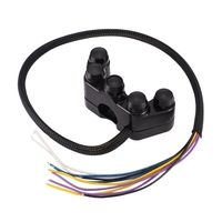 Motorcycle Switches Handlebar Control Switch Button  for Headlight Turn Signal Fog Light Horn
