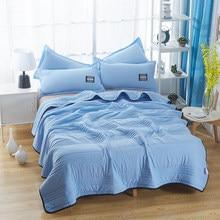 Colcha de Color rosa para el hogar, colcha de verano de tamaño king y Queen doble, colcha de cama sencilla, colcha