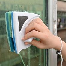 Магнитная двусторонняя щетка для мытья окон инструмент очистки