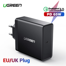 Ugreen PD 65W Charger USB type C for Apple MacBook Air iPad Pro Samsung ASUS Acer Tablet Nintendo Switch