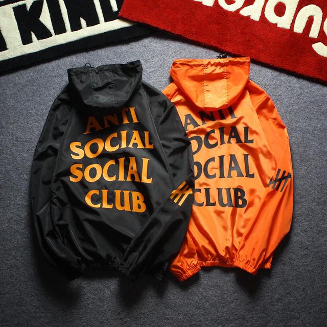 ANTI SOCIAL CLUB HOODIE JACKET (5 VARIAN)