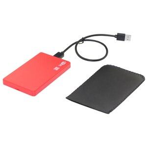 Портативный корпус 2,5-дюймового внешнего жесткого диска, USB 3,0 к SATA III 6 Гбит/с 2,5