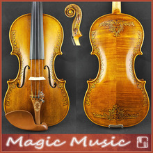 Violin-Size Strad Rosin with Beautiful Handcrafts Free-Case Bow 4/4-Concerto-Level 2291