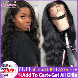 Image 1 - 13x4 Lace Front Wigs For Black Women Long 30 inches Lace Frontal Wig Body Wave 4x4 Lace Closure Human Hair Wigs  Jarin Hair