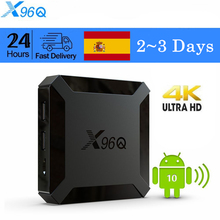 X96Q مجموعة صندوق فوقي أندرويد 10 صندوق التلفزيون Allwinner H313 رباعية النواة 4K الذكية tvbox 2.4GWifi دعم يوتيوب مشغل الوسائط
