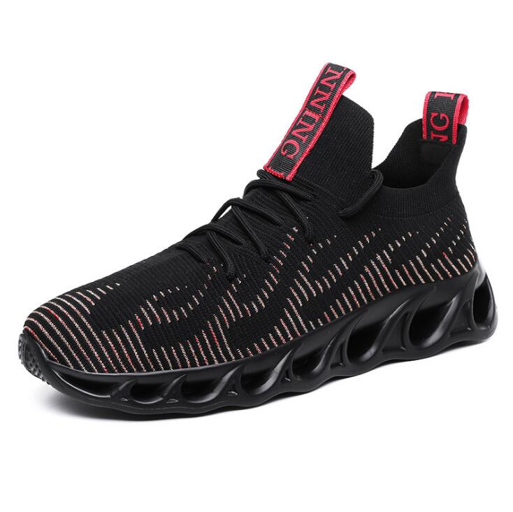2020 новые туфли в повседневном стиле; Легкая дышащая модная обувь для мужчин обувь size39-46