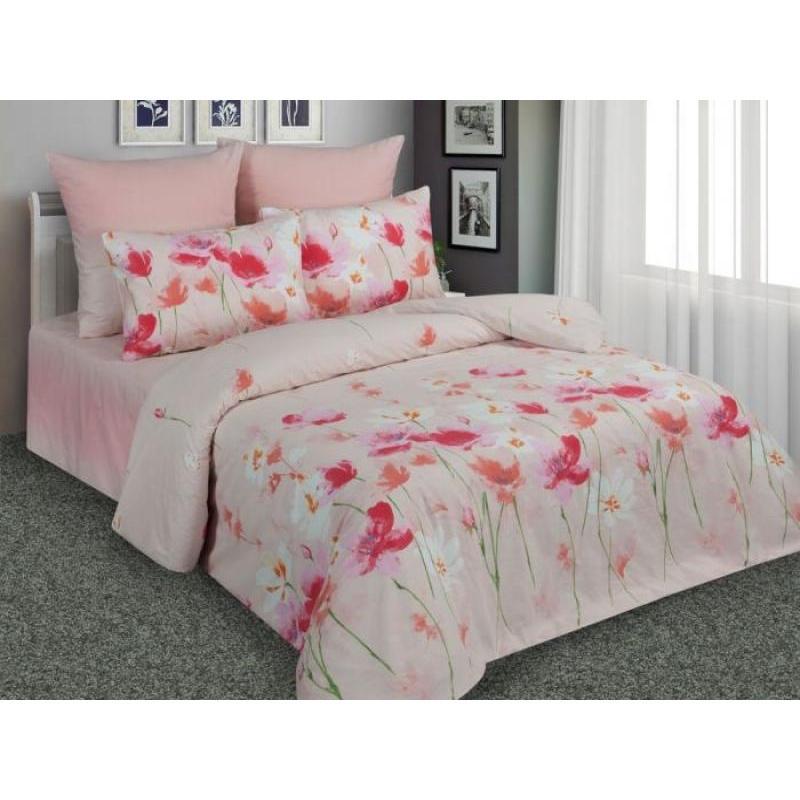 Bedding Set double-euro Amore Mio, pink, flower bedding set double amore mio lace