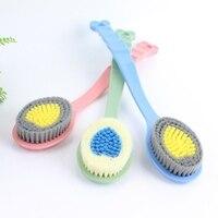 Exquisite Long Handle Back Rubbing Brush Bathing Massage Brush Banister Bathing Tool Cleaning brush 1