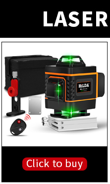 Laser Level 12 Lines 3D Self Leveling 360 Horizontal And Vertical Cross Super Powerful