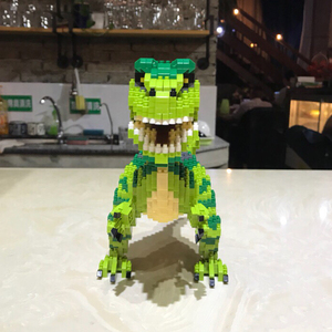 Image 5 - Balody Dinosaur Tyrannosaurus Rex Velociraptor Animal Monster 3D Model DIY Diamond Mini Building Blocks Toy for Children no Box