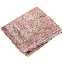 Блестящая розово-Золотая скатерть с блестками, блестящий декор для свадебной вечеринки 30x275 см,, поддержка оптовой продажи, Прямая поставка