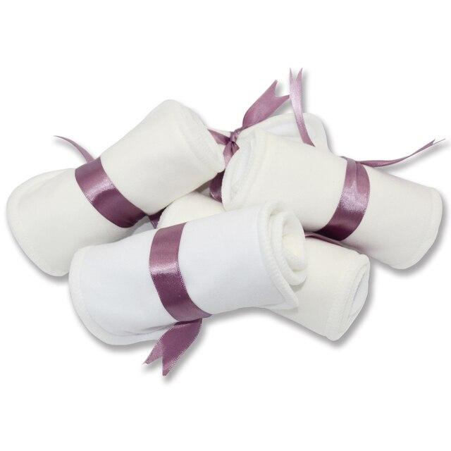 Couche culotte en coton de bambou, 35x13,5 cm, avec tissu suédé sec ou fibre de bam,, couche poche