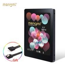 Mengmi Rainbow Quick Startup SATA3/6 2.5 인치 솔리드 스테이트 드라이브 120GB/240GB SSD 하드 드라이브 디스크 (+ 무료 SATA 커넥터)