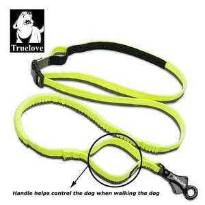Image 5 - Truelove Dog Running Bungee Leash Hand held Waistworn Adjustable Nylon Elastic Retractable Dog Leads for Running Jogging Walking