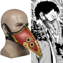 Anime Boku no My Hero Academia Overhaul Mask Crow Mouth Plague Doctor Steampunk Halloween Cosplay Prop Costume Accessory