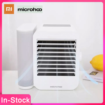 NEW XIAOMI Microhoo 3 In 1 Mini Air Conditioner for Home Water Cooling Fan Touch Screen Timing Artic Cooler Humidifier