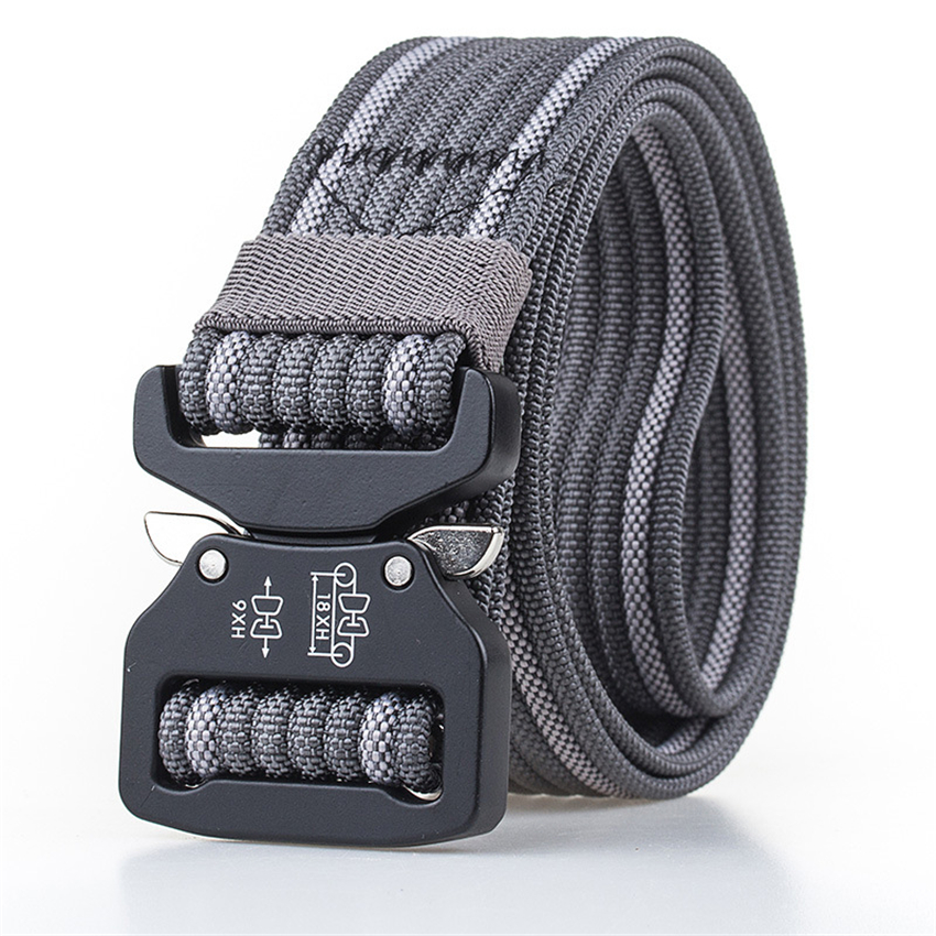 True Nylon Cobra Belt Male Adjustable Tactical Designer Belts For Jeans Metal Buckle Sport Waist Belt Training Men Belts Hiking
