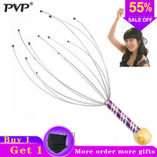 PVP 1pcs massazher body Massager masajeador Head scalp neck massgeador Care Relax Massage Tens Pain Relief