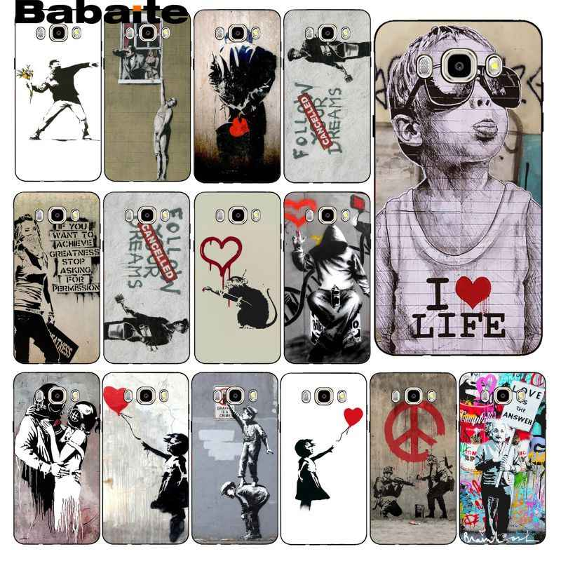 Bbabite уличные художественное оформление граффити чехол для телефона samsung Galaxy J7 J6 J8