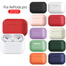 For AirPods Pro 2019 Case Silicone Shockproof Cover For Apple Airpods 3 Case For Air Pods Pro Wireless Bluetooth Earphones bag(China)