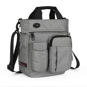 """Image 2 - Сумка на плечо для планшета ipad 7,9 """"9,7"""" 10,1 """" 12"""" 10,5 """" 12,9"""" air mini pro 2020 новые мужские сумки  мессенджеры для отдыха и путешествий черные сумки для ноутбука"""