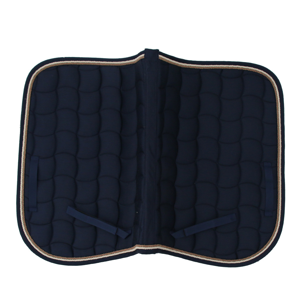 Half Western English Saddle Pads Horse Jumping Event Saddle Pad For Schooling Training Eventing 69x50cm