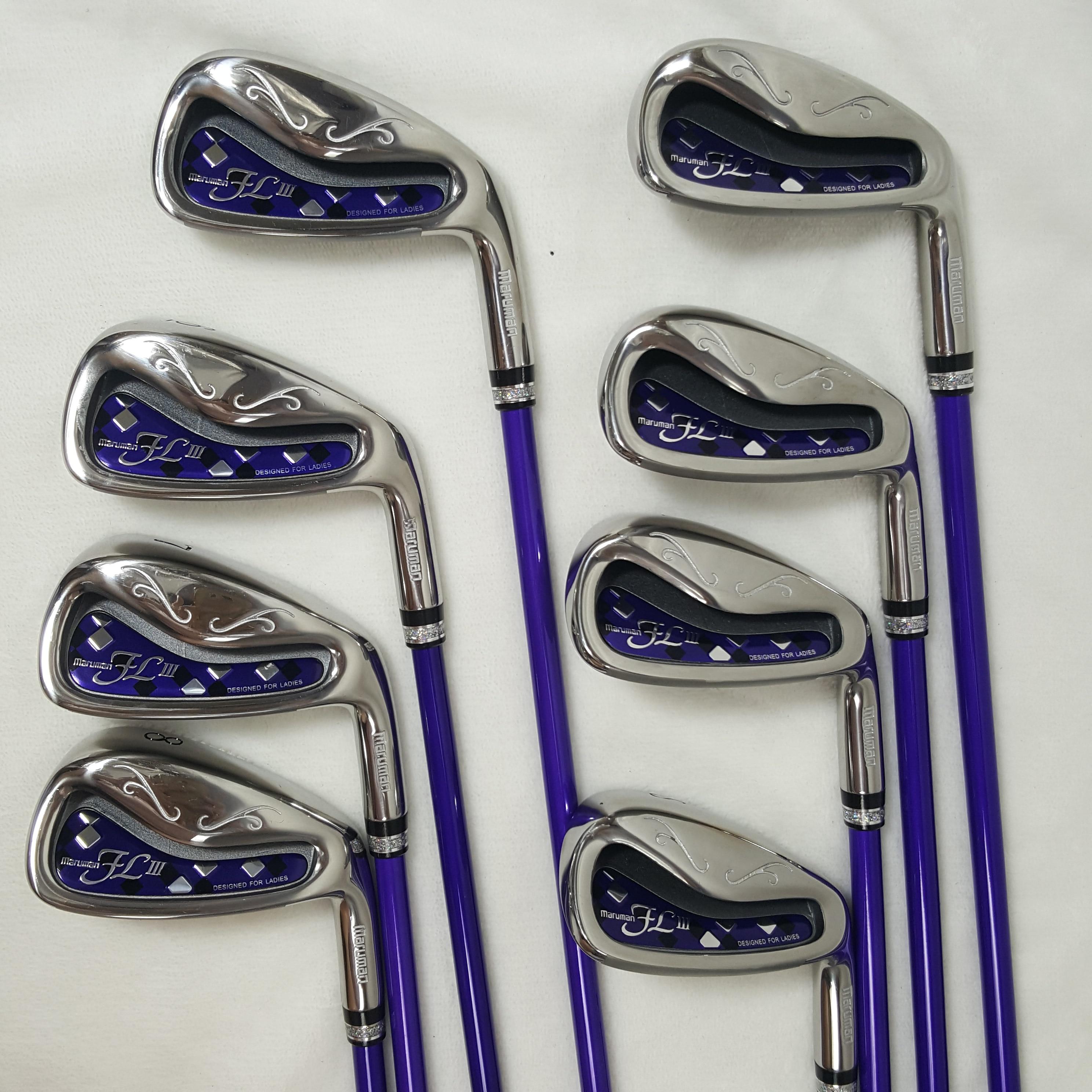 New Women's Golf Club Maruman FL III Brand New Exquisite Golf Iron Set Graphite L Flex Free Shipping