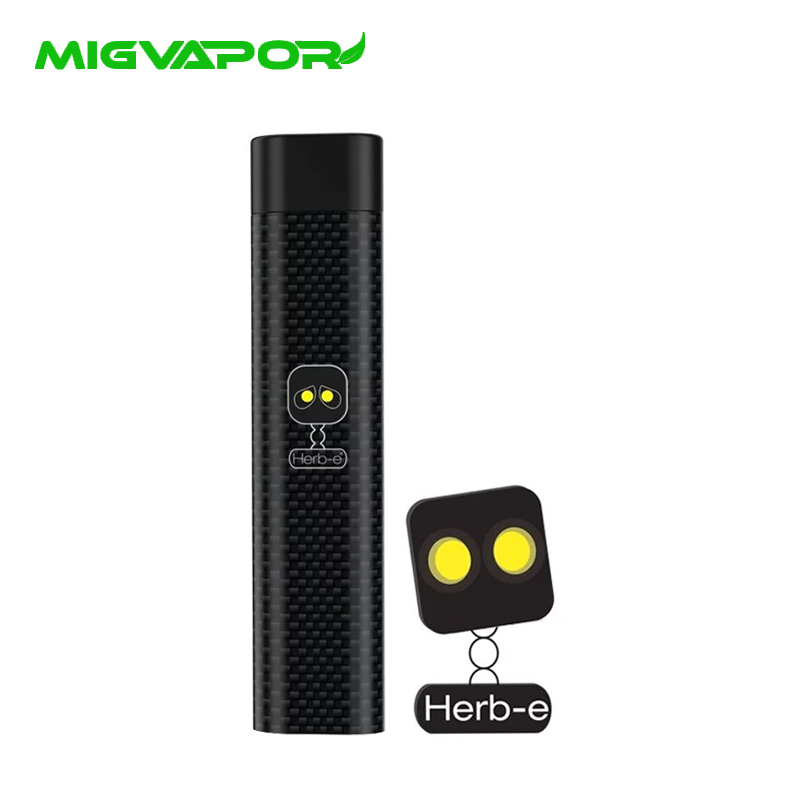 Original Herb-e Micro Dry Herb Vaporizer Ultra Portable World's Smallest Vape Pen Kit Mig Vapor Vaporizer