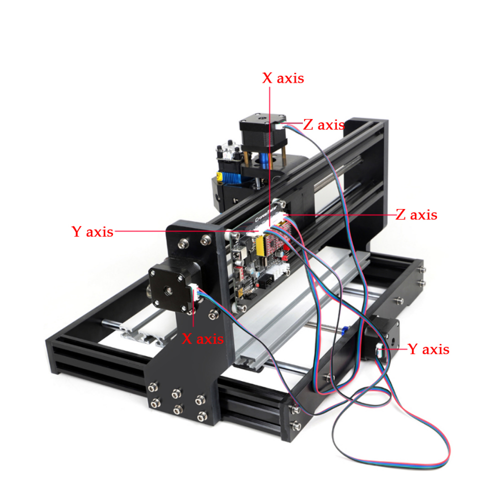 MINI Laser Engraving CNC Machine With Offline Control For Woodworking And Rubber Stamps