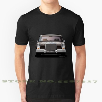 Mb 600 W100 Cool Design Trendy T-Shirt Tee Car Luxury Car Limousine Pullman Limo Black Made In Germany German Car 60S 70S 80S image