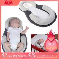 Хлопок Детская кровать переносная люлька складной новорожденных кроватки детской гнездо спальный детская колыбель детская кроватка