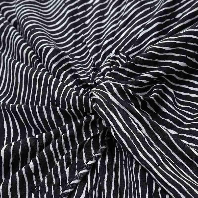 VONDA femmes asymétrique Blouse Sexy fendu ourlet rayé hauts fête longues dames bureau chemises 2020 femmes tunique grande taille Blusas