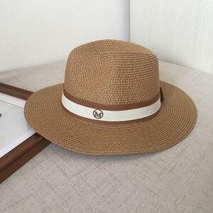 Image 2 - Sombrero de paja jazz para primavera y verano, gorro de sol transpirable, gorro de joker para viaje en la calle