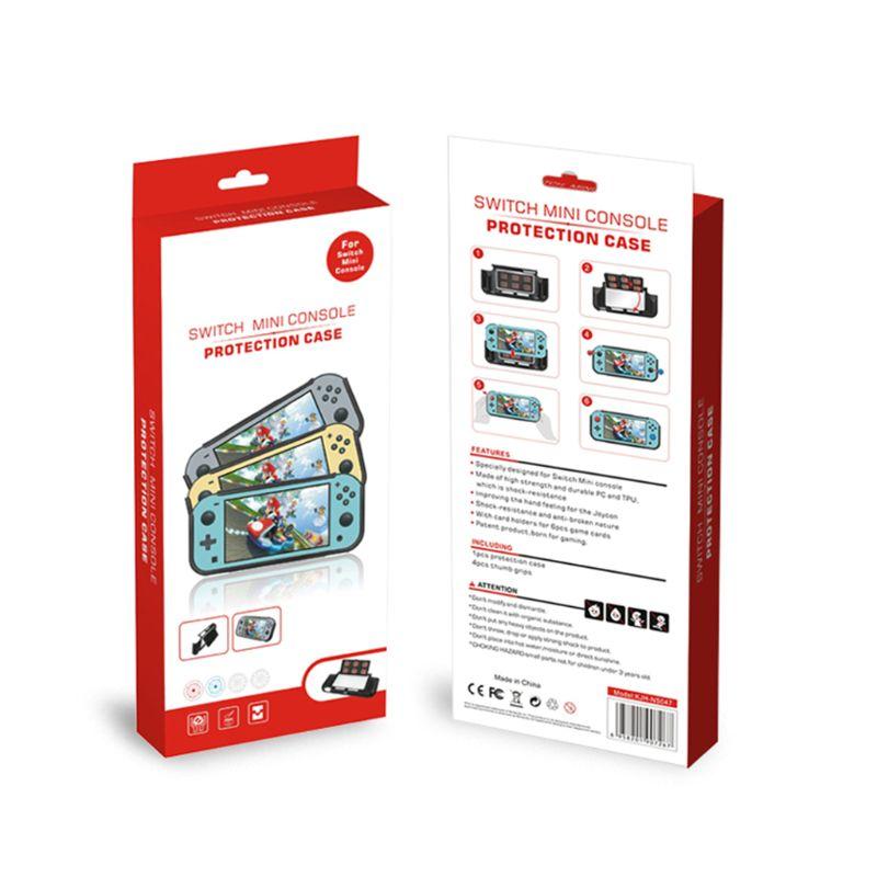 1Set Weiche TPU Schutzhülle Schutz Shell mit Joystick Kappe für Schalter Lite LX9A