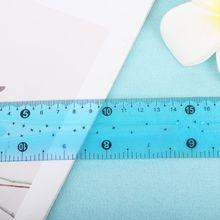 1PC 30cm Multicolour Student Flexible Ruler Tape Measure Straight Ruler Office School Supplies LX9A