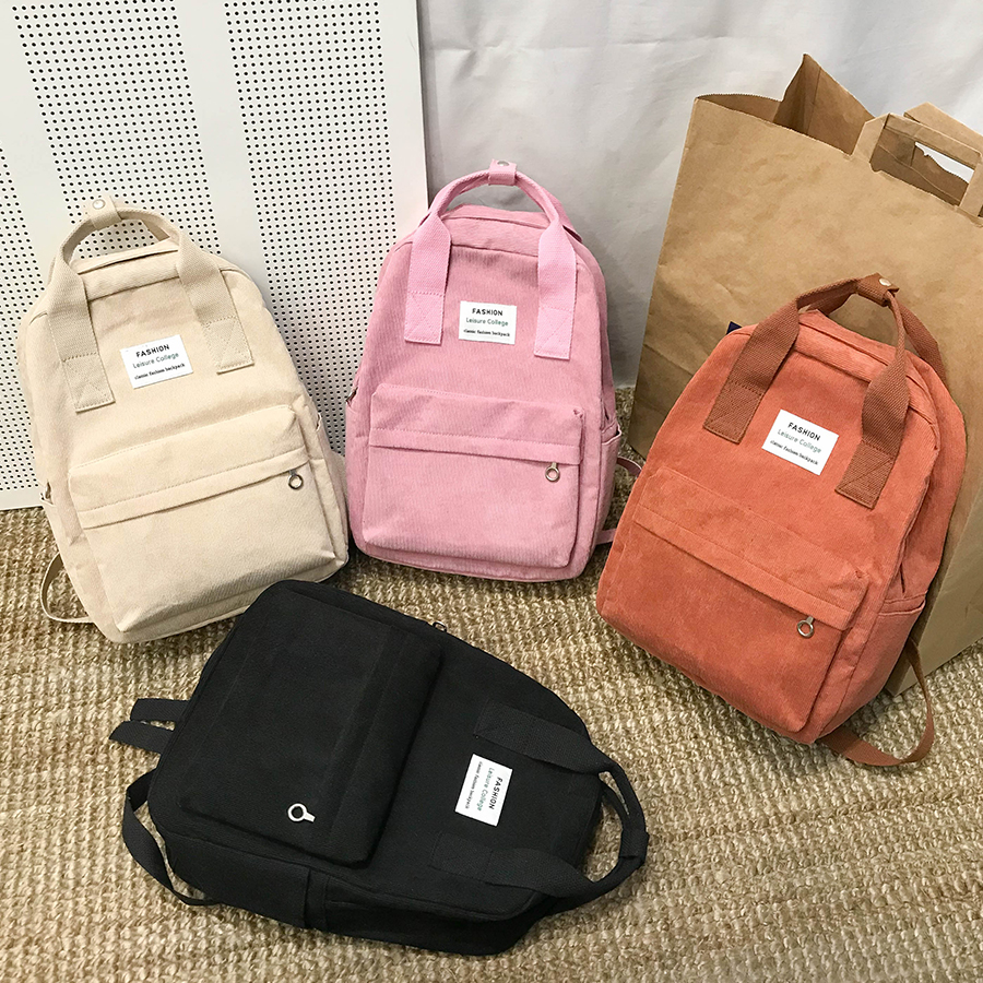 New Trend Female Backpack Fashion Women Backpack College School School Bag Harajuku Travel Shoulder Bags For Teenage Girls 2019