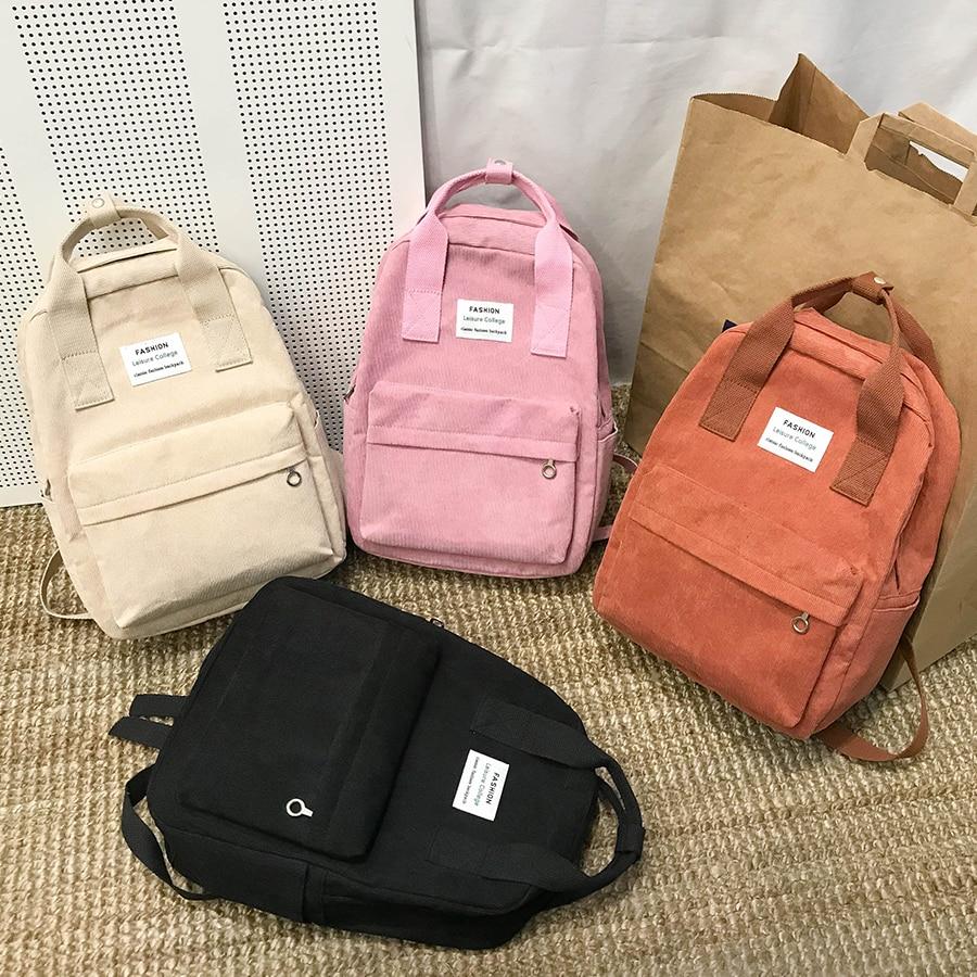 Nova tendência feminina mochila moda feminina mochila escola saco harajuku viagem sacos de ombro para meninas adolescentes 2019