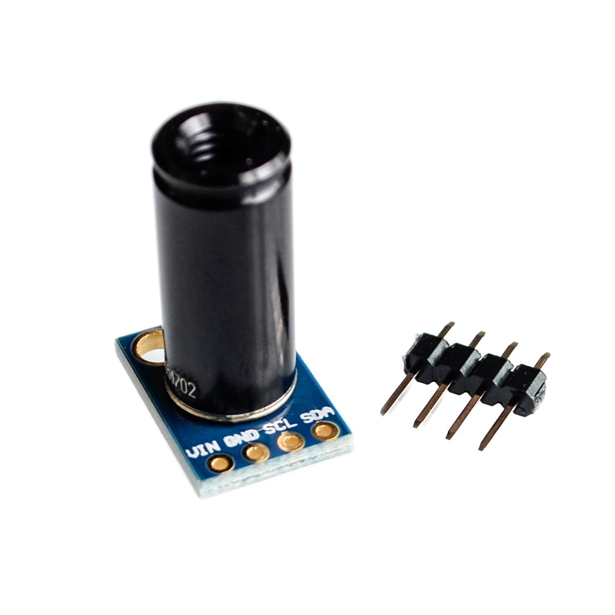 MLX90614ESF DCI сенсор модуль MLX90614 инфракрасный датчик температуры s GY 906 DCI IIC разъем на большие расстояния электронный DIY PCB