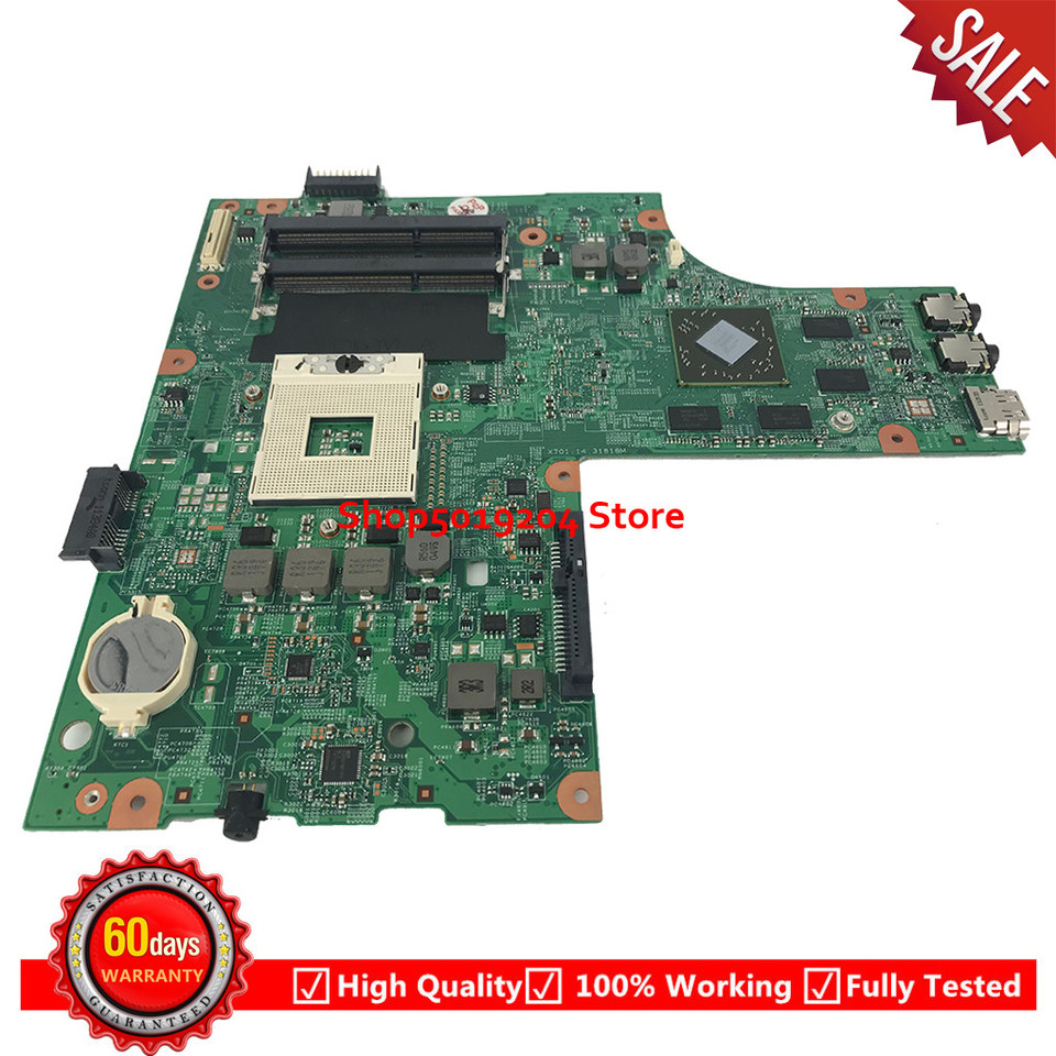 For Dell Inspiron 15R N5010 Laptop Motherboard 48.4HH01.011 HM57 09909 1  554HH01091 Mainboard CN 0K2WFF K2WFF 0K2WFF|Laptop Motherboard| - AliExpress