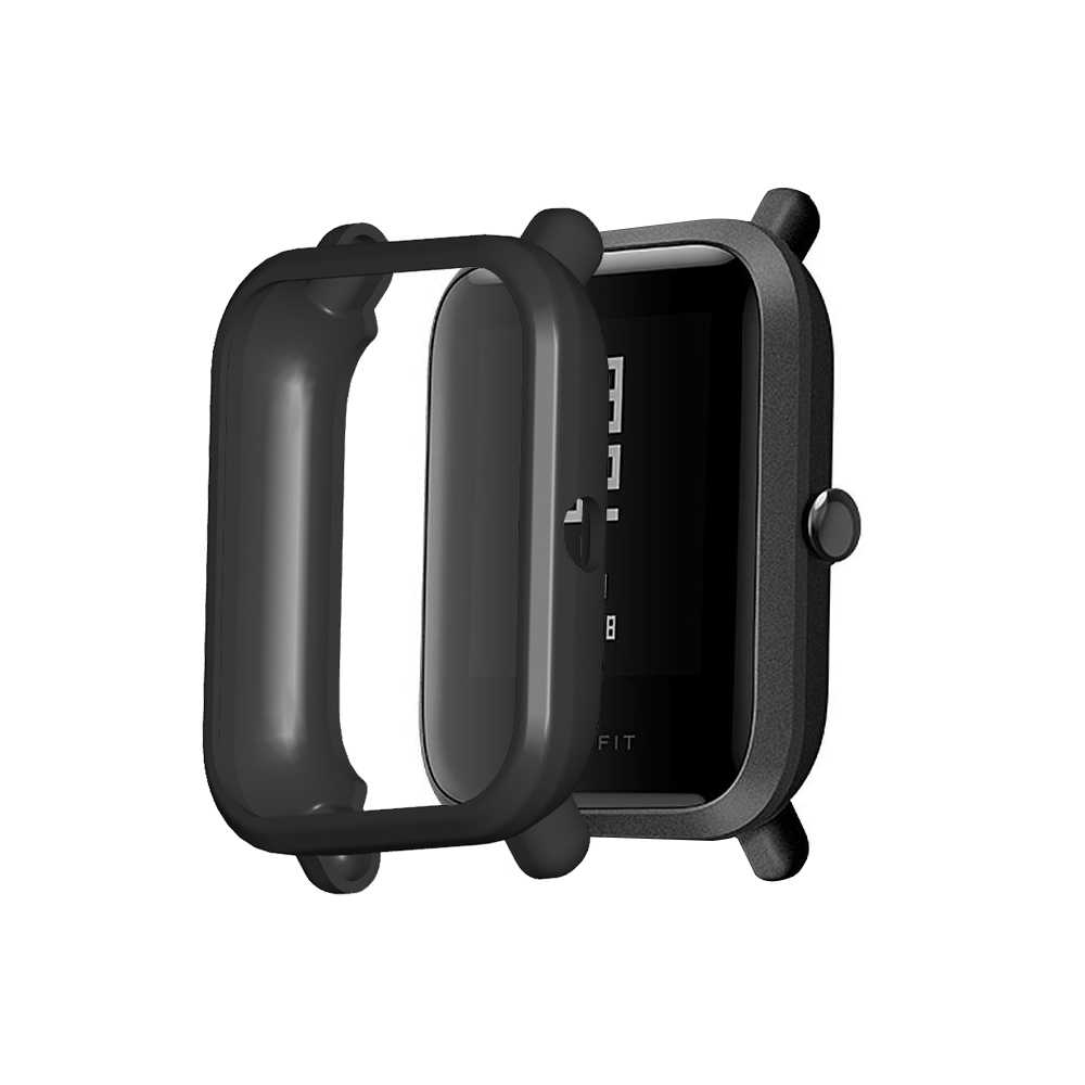 Étui de protection en TPU pour Amazfit Bip montre intelligente cadre de protection pour Xiaomi Huami Amazfit Bip Lite / Bip jeunesse pare-chocs
