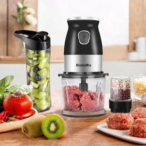 Image 5 - Bpa Gratis 500W Draagbare Persoonlijke Blender Mixer Keukenmachine Met Chopper Kom 600Ml Juicer Fles Vleesmolen Kindje voedsel Maker
