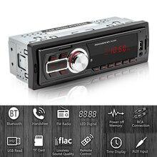 5208E 1 DIN Auto Radio FM Bluetooth Autoradio AUX in TF U Disk MP3 Player Handfree Auto Stereo Multimedia audio In Dash Head Unit