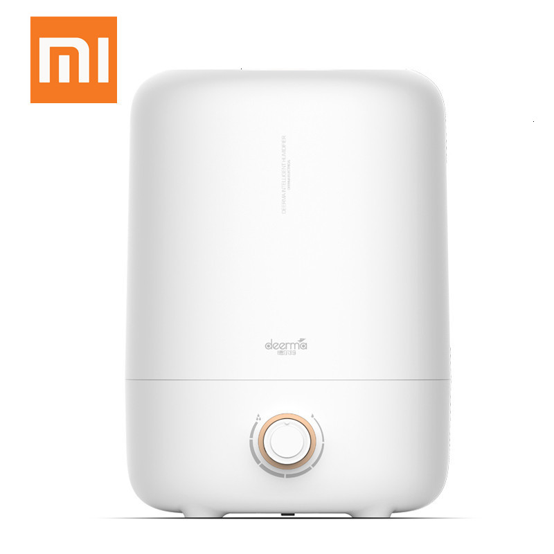The New Xiaomi Deerm DEM-F725 Ultrasonic Air Humidifier 5L Aromatic Diffuser In Millet Wetting Chamber