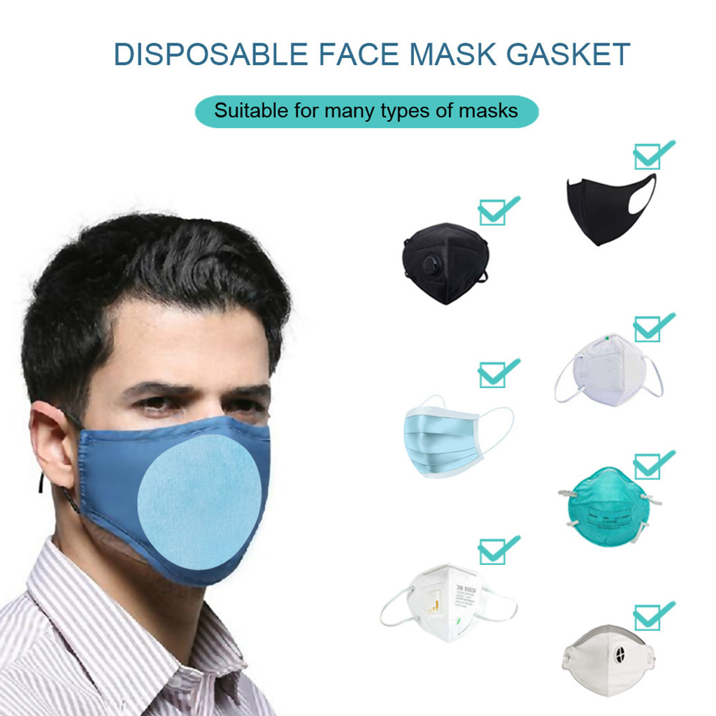 1/5/10pcs Pm2.5 Filter Paper Mouth Mask Anti Dust Face Mask Filter Paper Activated Carbon Filter For Mouth-muffle Health Care