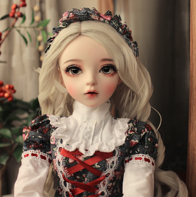 60cm <font><b>bjd</b></font> doll gifts for girl Doll With Clothes Support Change Eyes DIY Doll Best Valentine's Day Gift Handmad NEMEE DOLL toy image