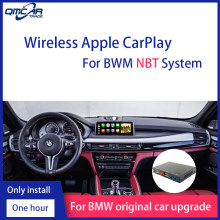 QMCAR Senza Fili di Apple CarPlay per BWM X1 X2 X3 X4 X5 X6 1-6 Serie Android Auto/Auto gioco di Sostegno Mirrorlink ios 13(China)